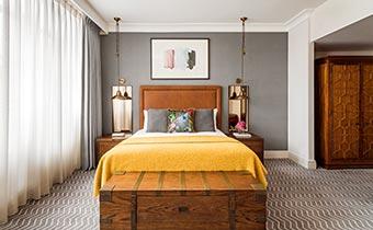 Kimpton Clocktower Hotel room